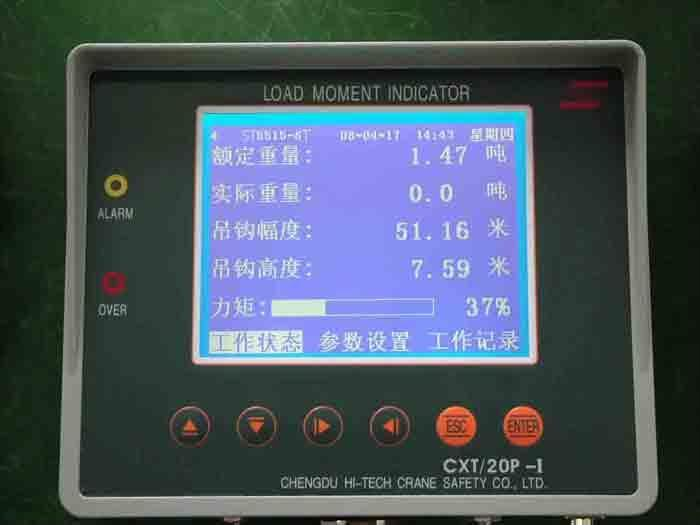 Load Moment Indicators For Cranes : Load moment indicator cxt p china manufacturer