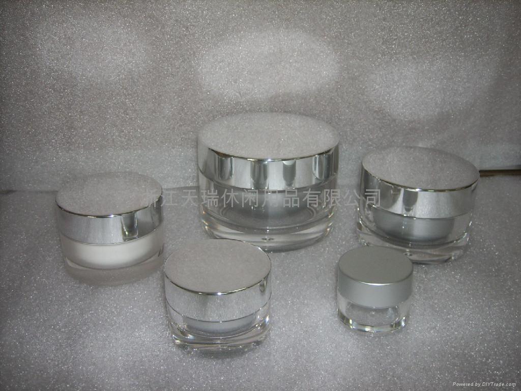 化妆品塑料包装亚克力膏霜瓶 5