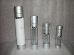 化妆品塑料包装电化铝三件套真空瓶