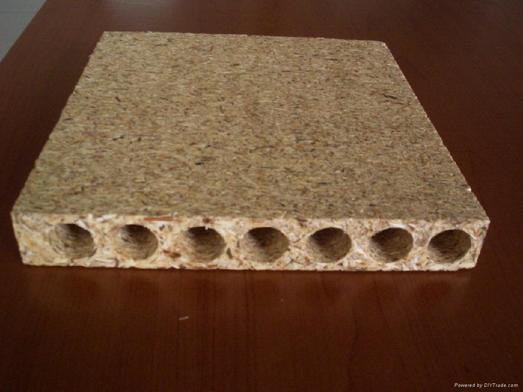 Hollow core particle board fushi china timber