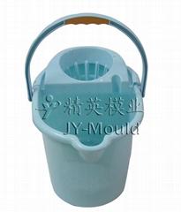 拖塵桶塑料模具