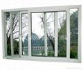 塑钢窗(80三轨推拉窗)