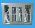 塑钢窗(UPVC68单轨推拉窗