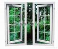 塑钢窗(UPVC 60 法式平