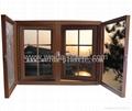 塑钢窗(UPVC 60 法式平开窗) 1