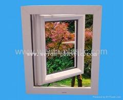 塑钢窗(UPVC 77 法式平开窗)