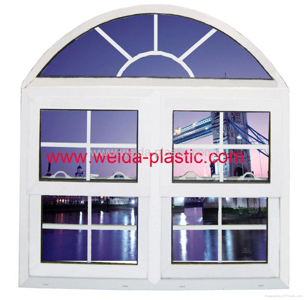 UPVC Push-up window 1
