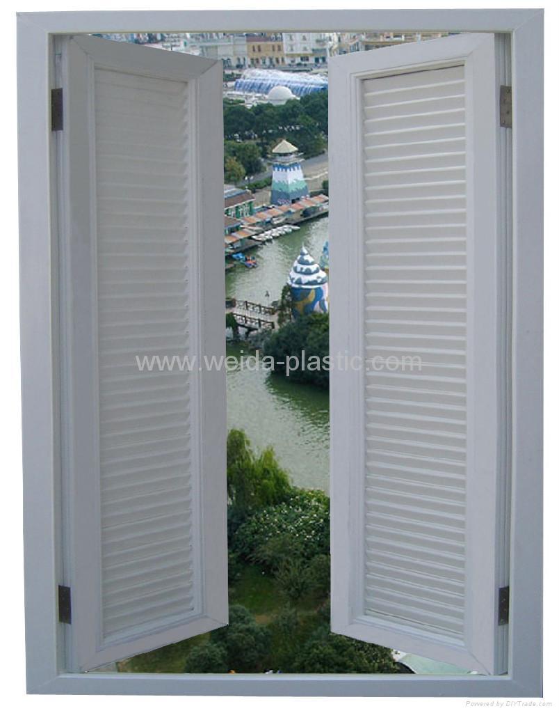 UPVC Shutter window 1