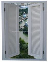 UPVC Shutter window