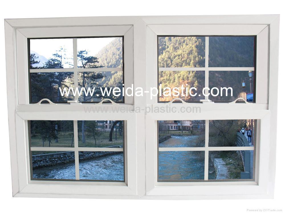 UPVC Push-up window 2