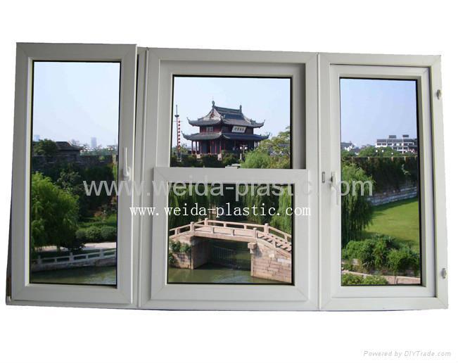 UPVC Combined window 1