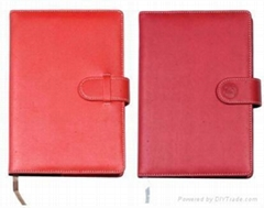 Moleskine notebook with