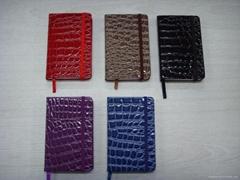 crocodile moleskine notebook