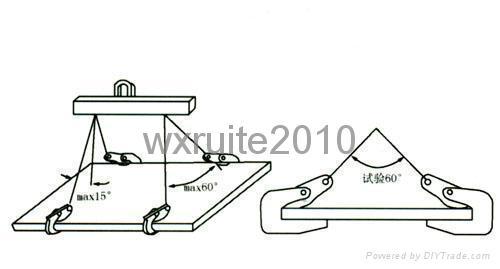 橫吊鋼板起重鉗 L型 廠家直銷 2