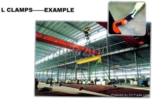 橫吊鋼板起重鉗 L型 廠家直銷 3