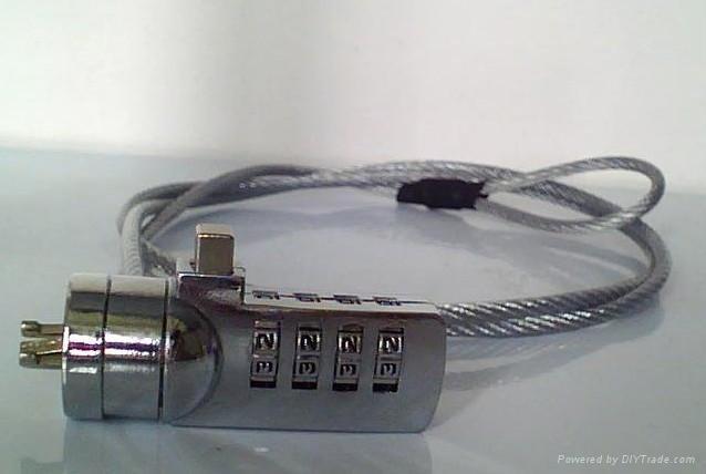 筆記本電腦密碼鎖 廣告促銷禮贈品 1
