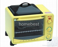 electric oven with BBQ