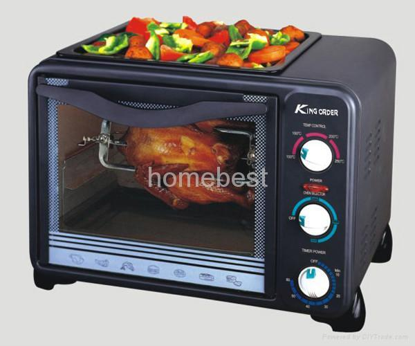 electric oven with BBQ 3