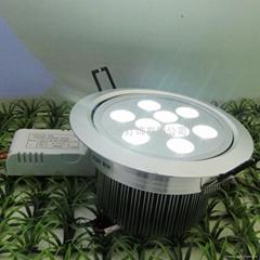 商場照明用LED天花燈(9W)