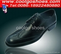 Dress men shoes in PU material