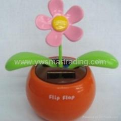 flip flap solar flower solar toys