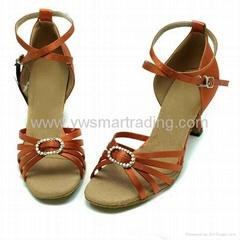 Ladies ballroom latin diamond dancing shoes Retail&wholesale