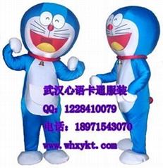出售武汉心语卡通服饰机器猫
