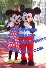 长期出售武汉心语卡通服装,迪斯尼米老鼠