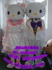 长期出售武汉心语庆典卡通服饰婚礼KT猫