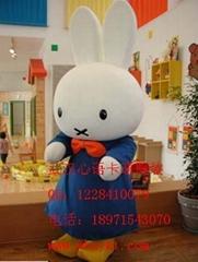厂价出售武汉心语卡通服装聪明兔