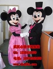 长期出售武汉心语卡通服装婚礼系列