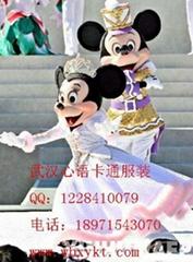 厂价出售武汉心语卡通服装米老鼠表演版系列