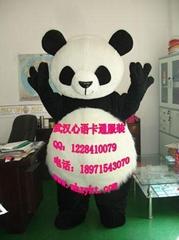 出售武汉心语卡通行走人偶服装大熊猫