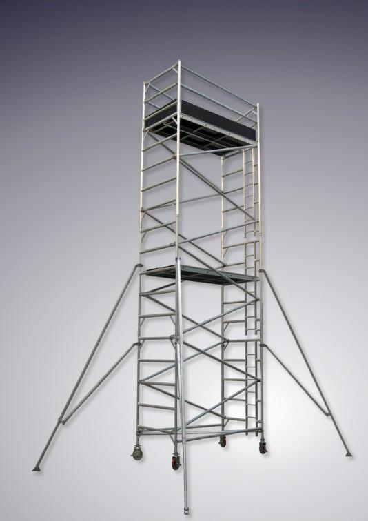 Double Width Scaffolding With Vertical Ladder Jsj 03 China Manufacturer Building Steel