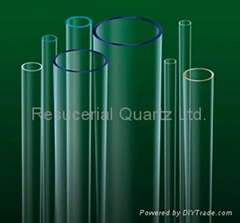 Ozone Free Quartz Glass Tube
