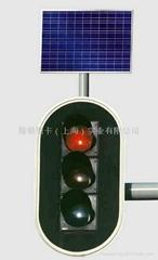 太陽能 交通燈