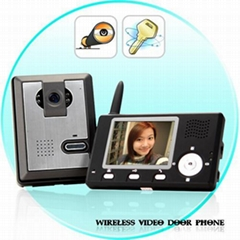 Entry Guardian - Wireless Video Door Phone (CMOS Sensor