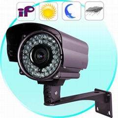 Outdoor IP Camera with Sony CCD (Motion Detection, Night Vision)