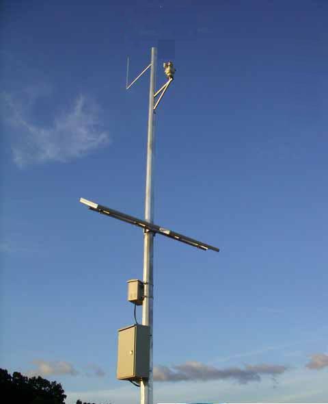 监控太阳能供电系统 1