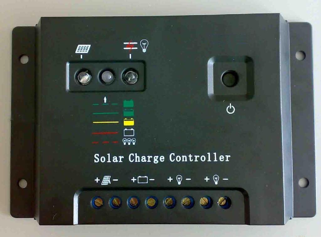 威胜隆专业生产12V/24V自适应10A20A太阳能控制器 1