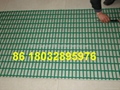 plastic coated crimped wire mesh panel