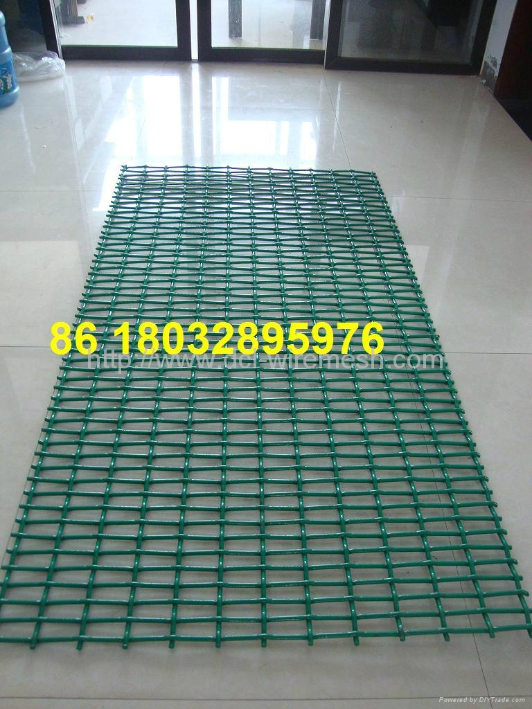 plastic coated crimped wire mesh panel - DCL - DCL (China ...