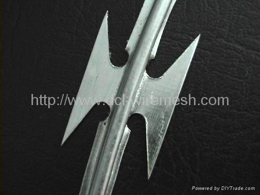 hot sale razor barbed wire 4