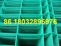 plastic welded wire mesh fence panel