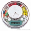 Pill Box with LCD Timer
