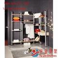 鋁合金服裝貨架 4