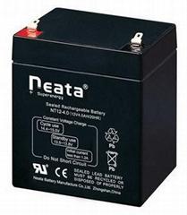 sealed lead acid battery 12V4Ah