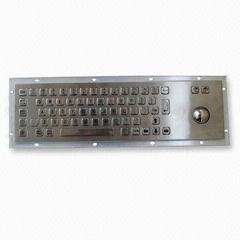 Metal Keypad IP65 for kiosks