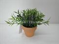 人造塑膠絲花(小盆栽) 4