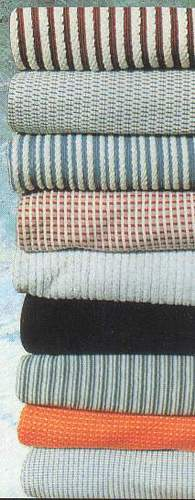 KNITTED FABRICS AND GARMENTS